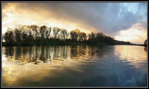 Zdjecie POLSKA / Ślask Opolski / rzeka Odra koło Krapkowic.daję jeszcze panoramę może się wam spodoba.  / panorama