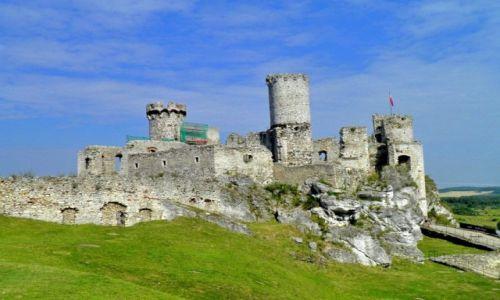 Zdjęcie POLSKA / Ślaskie / Ogrodzieniec / Ruiny zamku