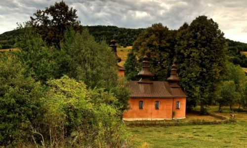 Zdjęcie POLSKA / Beskidu Niskiego / Blechnarka  / Cerkiew Świętych Kosmy i Damiana