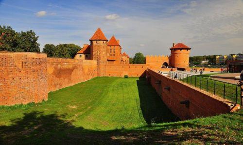 Zdjęcie POLSKA / Pomorze / Malbork / Czerwony jak cegła