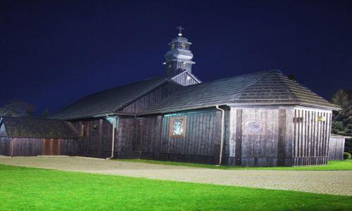 Zdjecie POLSKA / Sompolno, powiat koniński / Mąkolno / Drewniany kościół pw. św. Andrzeja Apostoła z 1750r