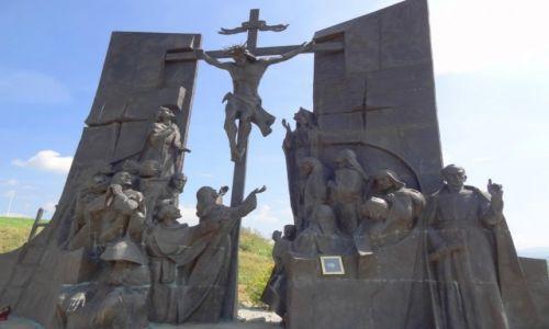 POLSKA / Żywiecczyzna / Wzgórze Matyska, Radziechowy / Golgota Beskidów - Jezus umiera na krzyżu