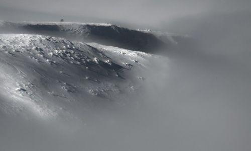 Zdjęcie POLSKA / Beskidy / Babia Góra / Spacer w chmurach