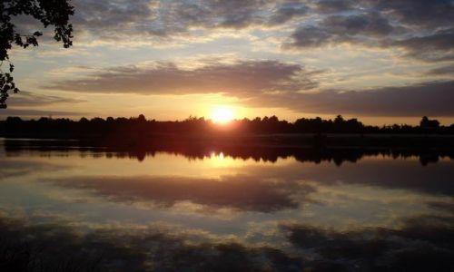 Zdjecie POLSKA / Jura / gdzieś na Jurze / zachód słońca