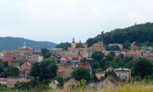 Zdjęcie POLSKA / dolnoślaskie / Boguszów Gorce / Widok na miasto