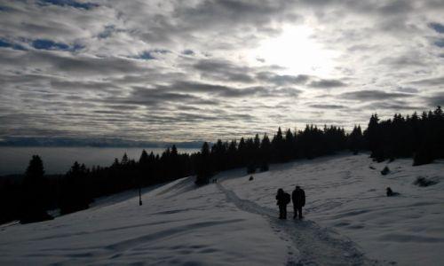 Zdjęcie POLSKA / Gorce / okolice Turbacza / turyści na szlaku...