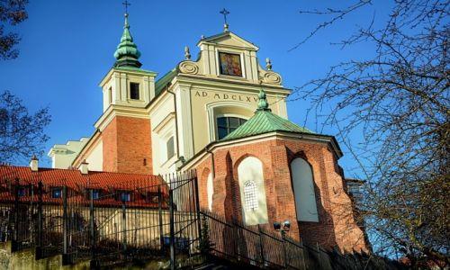 POLSKA / mazowsze / Warszawa / Ko�ci� Akademicki i Parafia �w. Anny