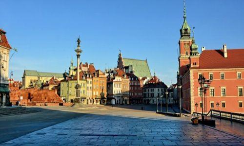 POLSKA / mazowsze / Warszawa / Plac Zamkowy
