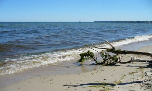 Zdjecie POLSKA / pomorskie / Puck / Widok z plaży na
