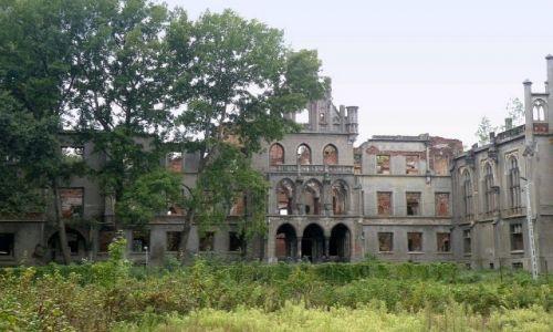 Zdjęcie POLSKA / opolskie / Kopice /  Ruiny bajkowego kiedyś pałacu