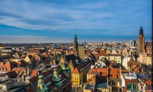 POLSKA / Dolnośląskie / Wrocław / Widok z Mostu Pokutnic