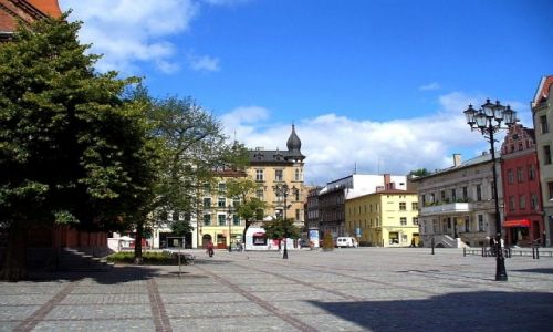Zdjęcie POLSKA / kujawsko pomorskie / Toruń / Fragment rynku