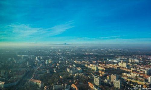Zdjecie POLSKA / Dolnośląskie / Wrocław / Widok z najwyższego budynku we Wrocławiu