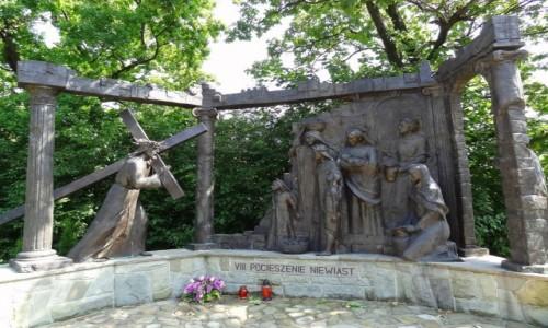Zdjęcie POLSKA / Żywiecczyzna / Wzgórze Matyska, Radziechowy / Pocieszenie Niewiast - Beskidzka Droga Krzyżowa