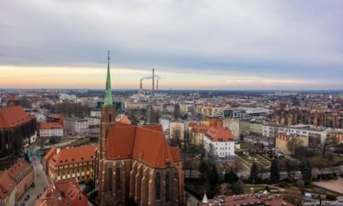Zdjecie POLSKA / Dolnośląskie / Wrocław / Panorama Wrocławia