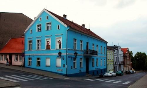 Zdjęcie POLSKA / Chełmno / ul. Wodna / Kamieniczki