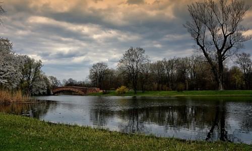 POLSKA / mazowsze / Warszawa - Wilan�w / park