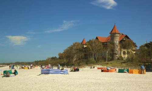 Zdjęcie POLSKA / Pomorskie / Łeba / 2 maja 2016, na plaży