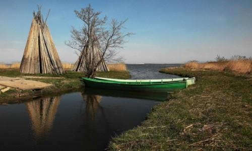 POLSKA / Pomorskie / Izbica, gmina G��wczyce / Przysta� rybacka