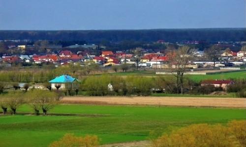 POLSKA / kujawsko pomorskie / Racia�ek / Widok z zamkowego wzg�rza