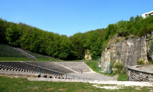 POLSKA / opolskie / Góra Św. Anny / Amfiteatr Góra Św. Anny
