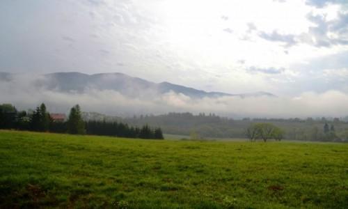 Zdjecie POLSKA / podkarpackie / Smerek / Za mgłą