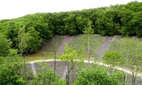 Zdjęcie POLSKA / opolskie / Góra Świętej Anny / Inny widok amfiteatru.