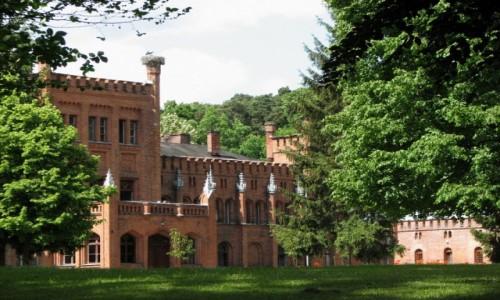 Zdjęcie POLSKA / warmińsko-mazurskie / Sorkwity / Pałac rodów von Mirbach i von Paleske