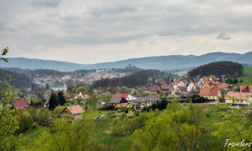 POLSKA / Dolno�l�skie / Zamek �winy / Punkt widokowy w pobli�u zamku