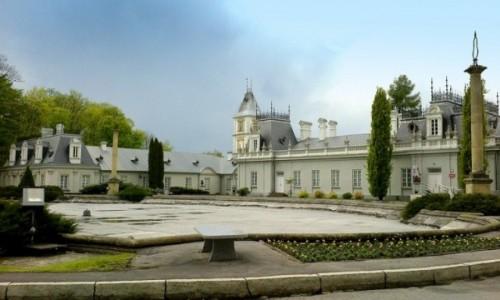 Zdjęcie POLSKA / Kozienice / pałac+park / Pałac w Kozienicach
