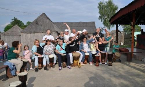 POLSKA / Mazowieckie, Naruszewo / Sobanice Africa Centre / Spotkanie Globkowicz�w