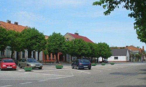 Zdjecie POLSKA / kujawsko pomorskie / Nieszawa / Rynek w Nieszaw