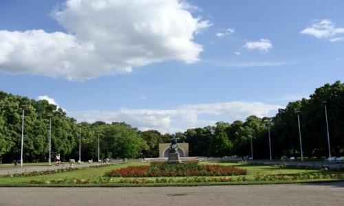 Zdjecie POLSKA / Wielkopolska / Pozna�-Park Wilsona / W parku