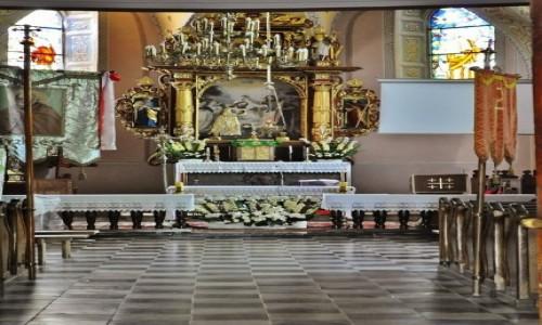 Zdjęcie POLSKA / Małopolska / Korzkiew / Korzkiew, kościół obronny