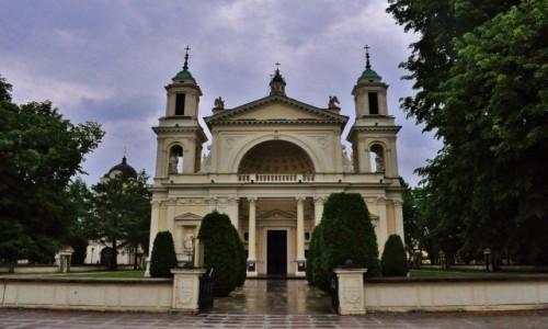 Zdjęcie POLSKA / Mazowsze / Warszawa / Warszawa, Wilanów, kościół