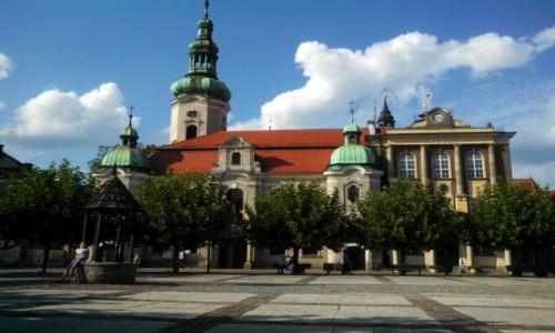 Zdjęcie POLSKA / Śląskie / Pszczyna  / Pszczyna - rynek