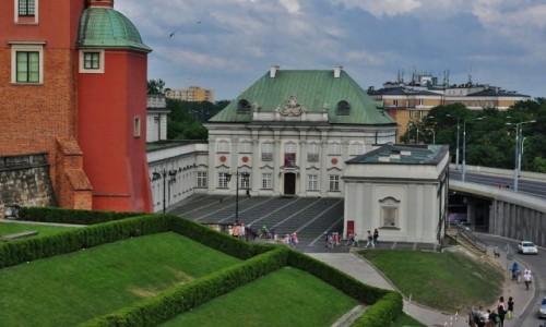 POLSKA / Mazowsze / Warszawa / Warszawa, zamek kr�lewski