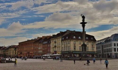 POLSKA / Mazowsze / Warszawa / Warszawa, kolumna Zygmunta