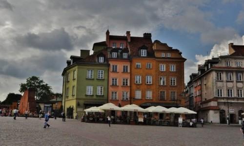 POLSKA / Mazowsze / Warszawa / Warszawa, plac Zamkowy