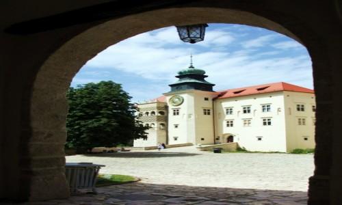 POLSKA / Jura Krakowsko-Cz�stochowska / Su�oszowa /  Zamek w Pieskowej Skale