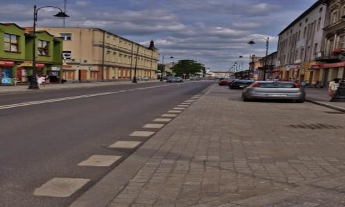 Zdjecie POLSKA / Mazowsze / Piotrków Trybunalski / Piotrków, ulice miasta