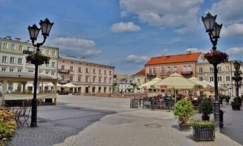 Zdjęcie POLSKA / Mazowsze / Piotrków Trybunalski / Piotrków, stary rynek