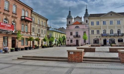 Zdjecie POLSKA / Mazowsze / Piotrków Trybunalski / Piotrków, stary rynek