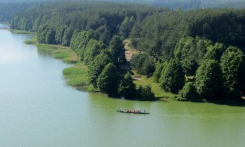 Zdjęcie POLSKA / Kaszuby / Wdzydze Kiszewskie / u zbiegu czterech jezior...