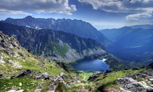 POLSKA / Ma�opolska / Tatry,  Szpiglasowy Wierch / Ciemnosmreczy�ska Dolina