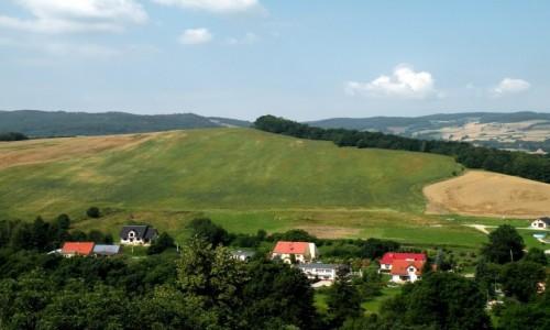 POLSKA / dolno�laskie / Bolk�w / Widok z zamku Bolk�w