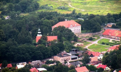 Zdjecie POLSKA / dolno�l�skie / Sobiesz�w / Widok z zamku C