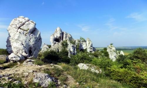 Zdjęcie POLSKA / Małopolska / Dolina Szklarki / Słoneczne Skały