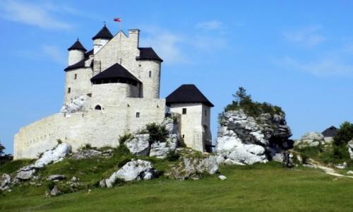 Zdjęcie POLSKA / Śląskie / Bobolice / Zamek królewski Bobolice