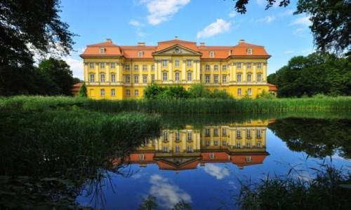 POLSKA / Dolny Śląsk / Radomierzyce / Pałac